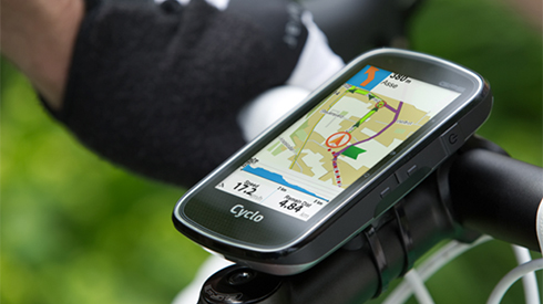 Mio Cyclo 450 GPS aan fietsstuur