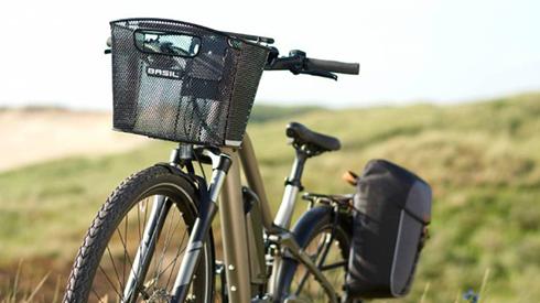 Basil fietsmand en fietstas