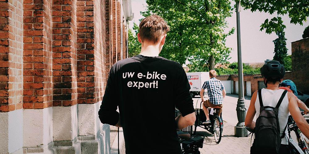 E-bikes testen tijdens Vlaanderen Elektrisch
