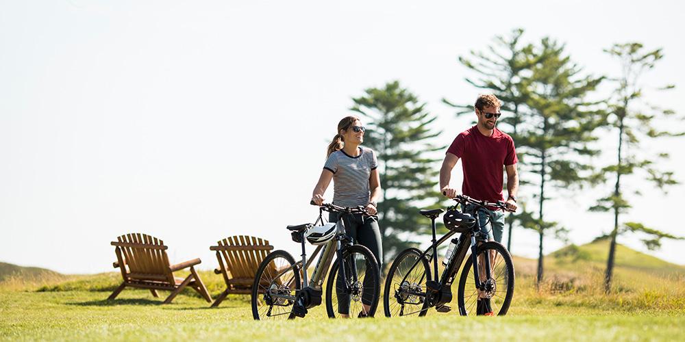 Genieten van de natuur met de e-bike