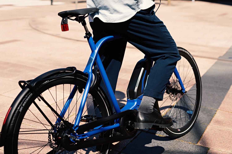Ingebouwde batterij van elektrische fiets