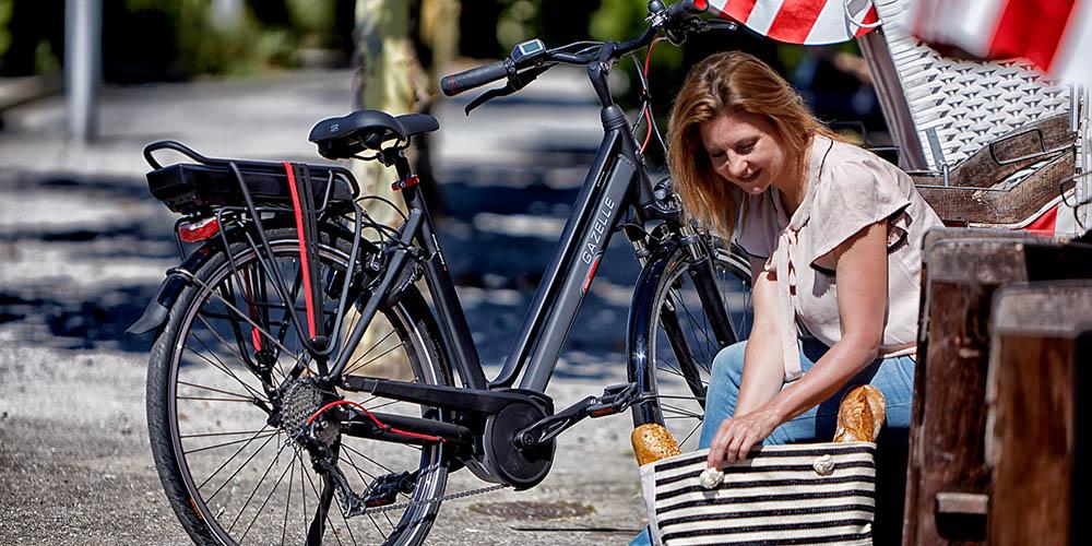 Gazelle e-bike met Bosch middenmotor