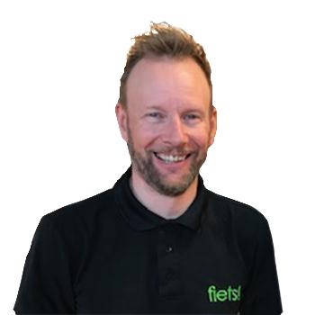 Fiets! Antwerpen store manager Serge Dewael
