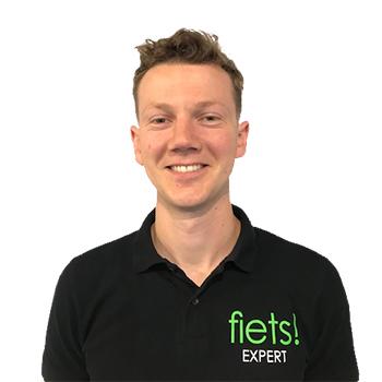 Fiets! Antwerpen store manager Hans Van de Paer