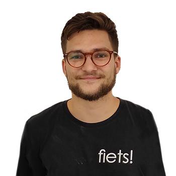 Fiets! Merksem store manager Dries Michiels