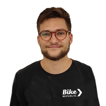 Bike Republic Merksem store manager Dries Michiels